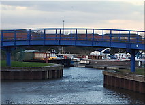 SK7954 : King's Marina, Newark, Notts. by David Hallam-Jones
