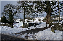 SK1971 : Footpath leading to Dale Farm by Ian S