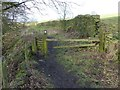 SJ9888 : Footpath from Dove Bank to Church Road by Dave Dunford