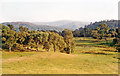NH7701 : Cairngorms from A9 near Kingussie, 1991 by Ben Brooksbank