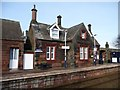 NY1441 : Aspatria's station building, now privately owned by Christine Johnstone
