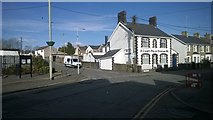 SS8983 : Police Station, Aberkenfig by Helen