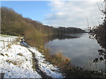 SE0118 : Permissive path along the north side of Ryburn Reservoir by John Slater