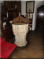 TM4560 : St.Andrew's Church Font by Adrian Cable