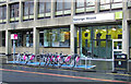 NS5965 : Nextbike Glasgow cycle hire point: George Square by Thomas Nugent