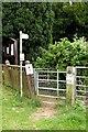 SP7026 : Kissing gate on the Bernwood Jubilee Way by Steve Daniels