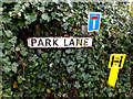 TM4656 : Park Lane sign by Adrian Cable