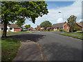 TV4899 : Junction of Buckingham Close, Kingsmead and Kingsmead Walk, Seaford by Robin Stott