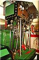 SU7585 : Fawley Hill Railway - marine steam engine by Chris Allen