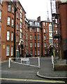 TQ3278 : Peabody Trust flats, Walworth, courtyard off Content Street by Robin Stott