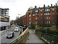 TQ3278 : Peabody Trust flats, Walworth, Rodney Street frontage by Robin Stott