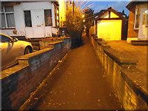 TQ1885 : Path from Kingsway to Park Lane, Wembley by David Howard