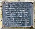 SJ9495 : Notice on Wellington Street by Gerald England