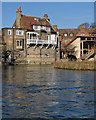 TL4457 : Fishing at Laundress Green in February by John Sutton