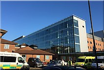 SJ8545 : Royal Stoke University Hospital: Main Building by Jonathan Hutchins
