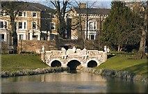 TQ1780 : Ornamental bridge, Walpole Park by Jim Osley