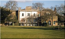 TQ1780 : Pitzhanger Manor: view from Walpole Park by Jim Osley