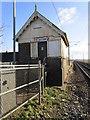SK6784 : Sutton signalbox by Jonathan Thacker
