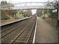 SJ5581 : Runcorn East railway station, Cheshire by Nigel Thompson
