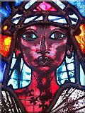 SJ3384 : The Sower, stained glass window, Christ Church, Port Sunlight by William Starkey