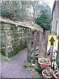 SE0722 : Elland FP02 at Upper Tinker Hey by Humphrey Bolton