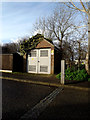 TM4657 : Electricity Sub-station off Church Farm Road by Adrian Cable