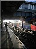 TQ2775 : Platform and train, Clapham Junction by Derek Harper