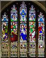 TF0207 : East window, St John the Baptist church, Stamford by Julian P Guffogg