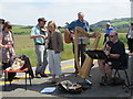 SN6090 : The music ensemble, Borth Station by Chris Denny