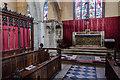 TF0307 : Chancel, St Mary's church, Stamford by Julian P Guffogg