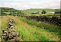 SE0829 : Calderdale Way near Schole Croft by Derek Harper