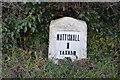 TG0311 : Milestone, Dereham Rd by N Chadwick