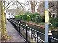 TF0919 : Ornamental railings in Church Walk, Bourne, Lincolnshire by Rex Needle
