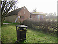 SK8704 : Repaired and extended building, top of Cemetery Lane, Manton by Robin Stott