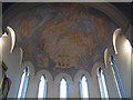 TQ4275 : St Barnabas church, Eltham: apse ceiling by Stephen Craven