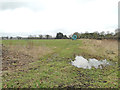 TM2995 : Irrigation equipment in field by Adrian S Pye
