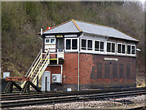 SO8555 : Worcester Tunnel Junction Signal Box by Chris Allen