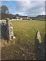 SD5475 : Stone gateposts, Henridding by Karl and Ali
