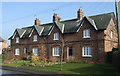 TA1242 : Cottages, School Row, Long Riston by JThomas