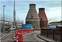 NT3074 : Portobello Pottery Kilns by Mary and Angus Hogg