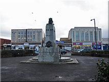 SD4364 : War memorial, Morecambe by Richard Dorrell