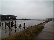 TA1128 : West Wharf at Alexandra Dock, Hull by Ian S