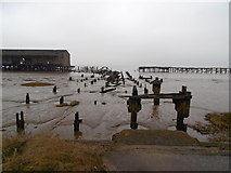 TA1228 : West Wharf at Alexandra Dock, Hull by Ian S