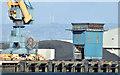 J3576 : Crane and hopper, Belfast harbour (February 2015) by Albert Bridge