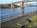 NZ2463 : The River Tyne around the King Edward Bridge by Mike Quinn
