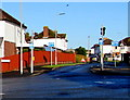 SO5240 : One way system, Monk Crescent, Hereford by Jaggery
