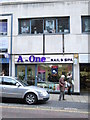 SE3033 : A-One nail & spa - Albion Street by Betty Longbottom