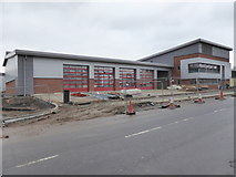 SO8555 : Worcester's new fire station by Chris Allen