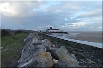 SJ1779 : Wales Coastal Path, Mostyn by Matt Harrop