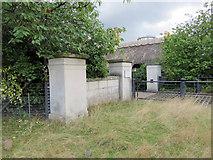 TQ1873 : Gateway to Pembroke Lodge, Richmond Park by John S Turner